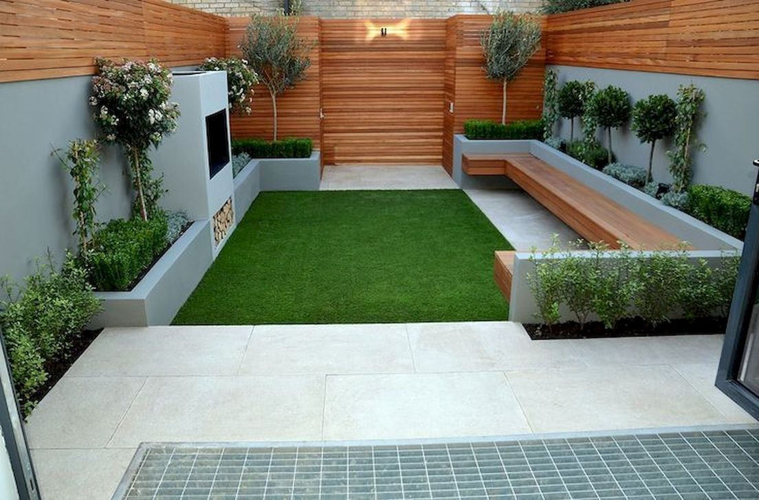 44 Excellent Backyard Landscaping Ideas That Looks Cool
