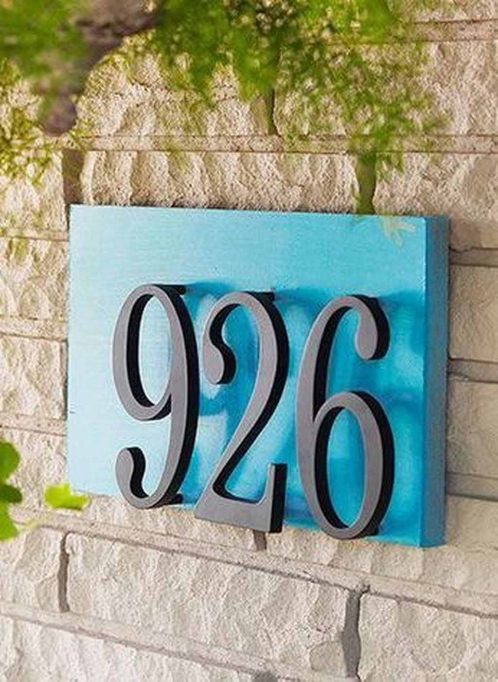 41 Cool Diy House Number Projects Design Ideas That Looks More Elegant