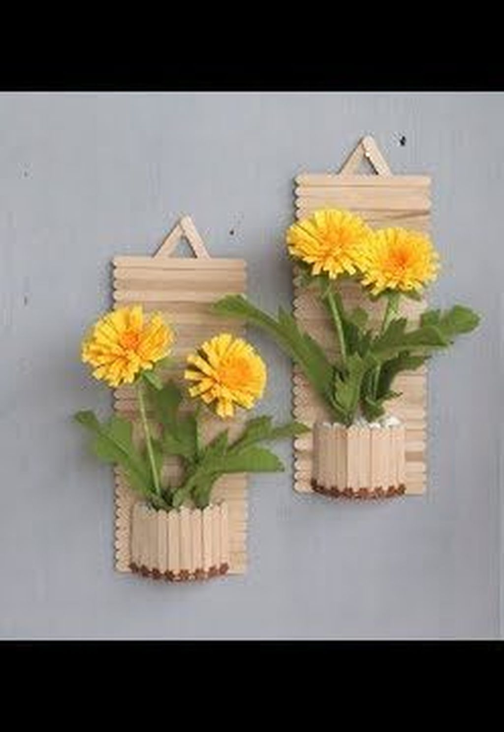 34 Gorgeous Diy Popsicle Stick Design Ideas For Home To Try Asap