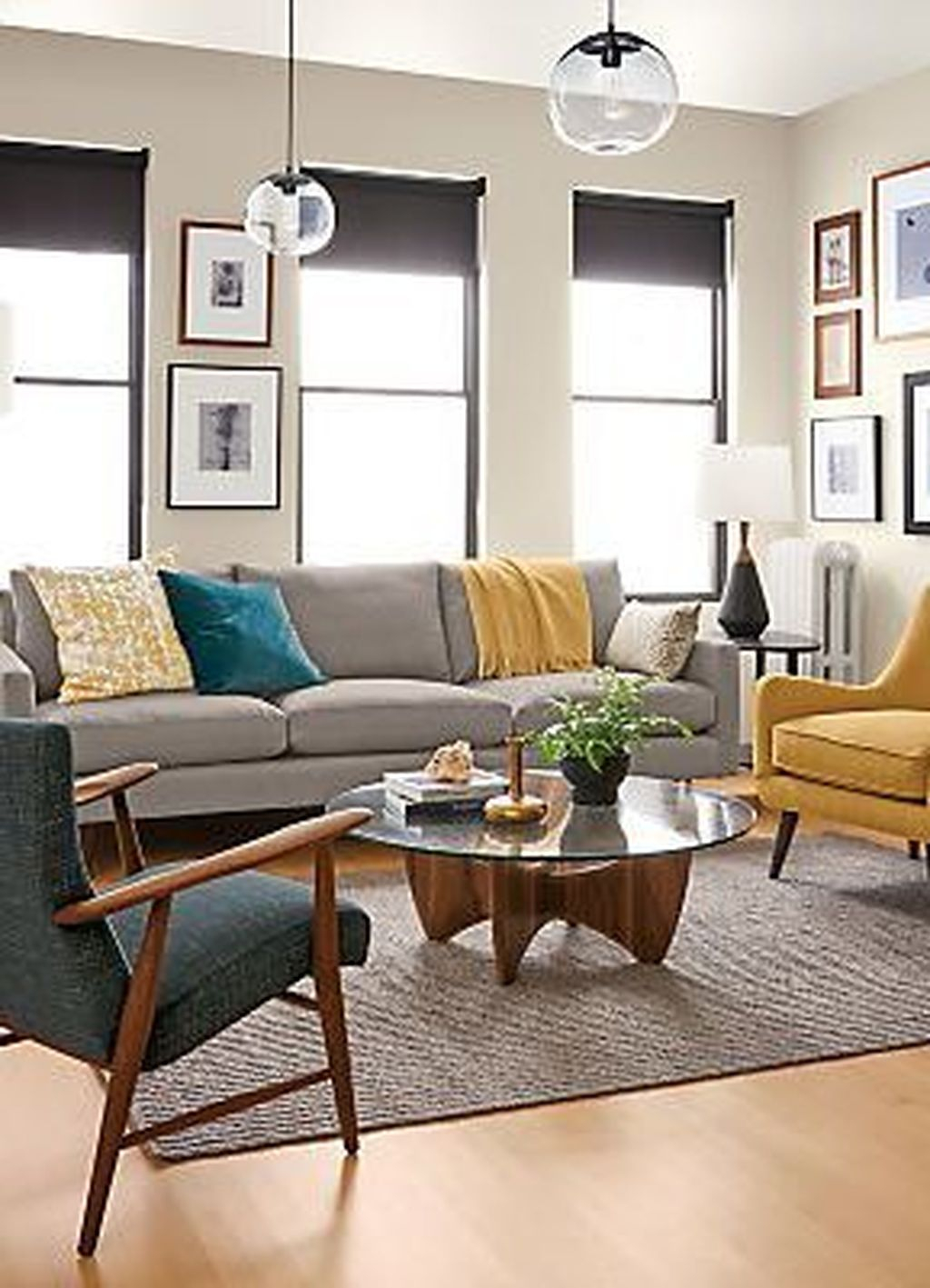 48 Graceful Living Room Design Ideas That You Need To Try