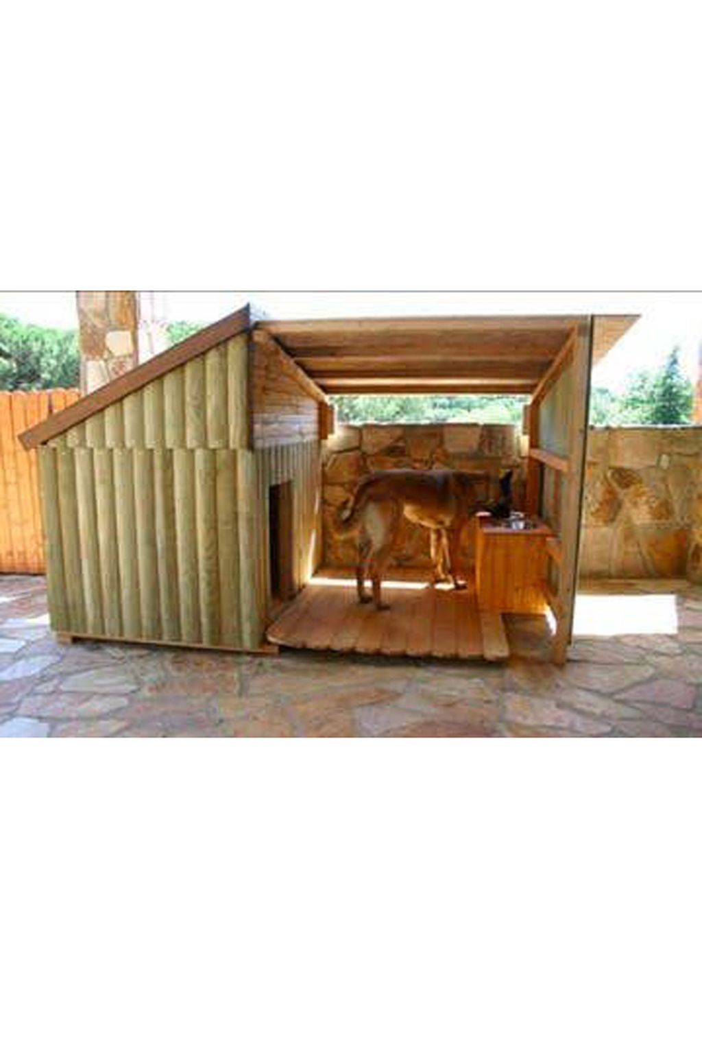 39 Interesting Outdoor Dog Houses Design Ideas For Pet Lovers